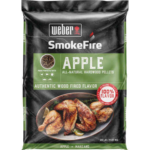 Weber SmokeFire 20 Lb. Apple Wood Pellet