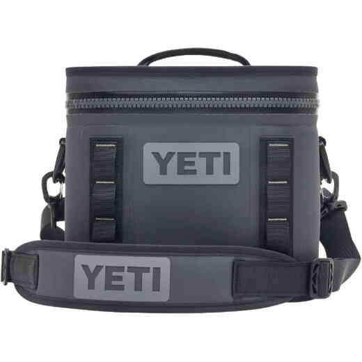 Yeti Hopper Flip 8, 8-Can Soft-Side Cooler, Charcoal