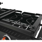 Blackstone Tailgater 2-Burner Black 18,500-BTU LP Gas Griddle Image 3