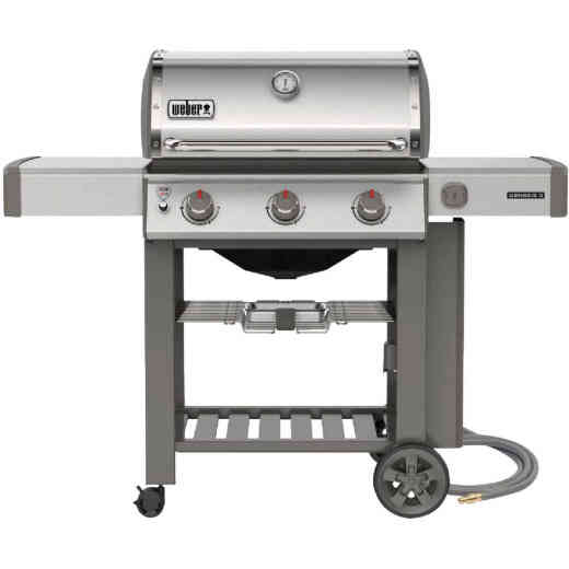 Weber Genesis II S-310 3-Burner Stainless Steel 39,000-BTU Natural Gas Grill