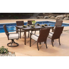 Pacific Casual Addison 7-Piece Dining Set Image 2