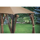 Outdoor Expressions 10 Ft. x 12 Ft. Art Steel Gazebo Image 2