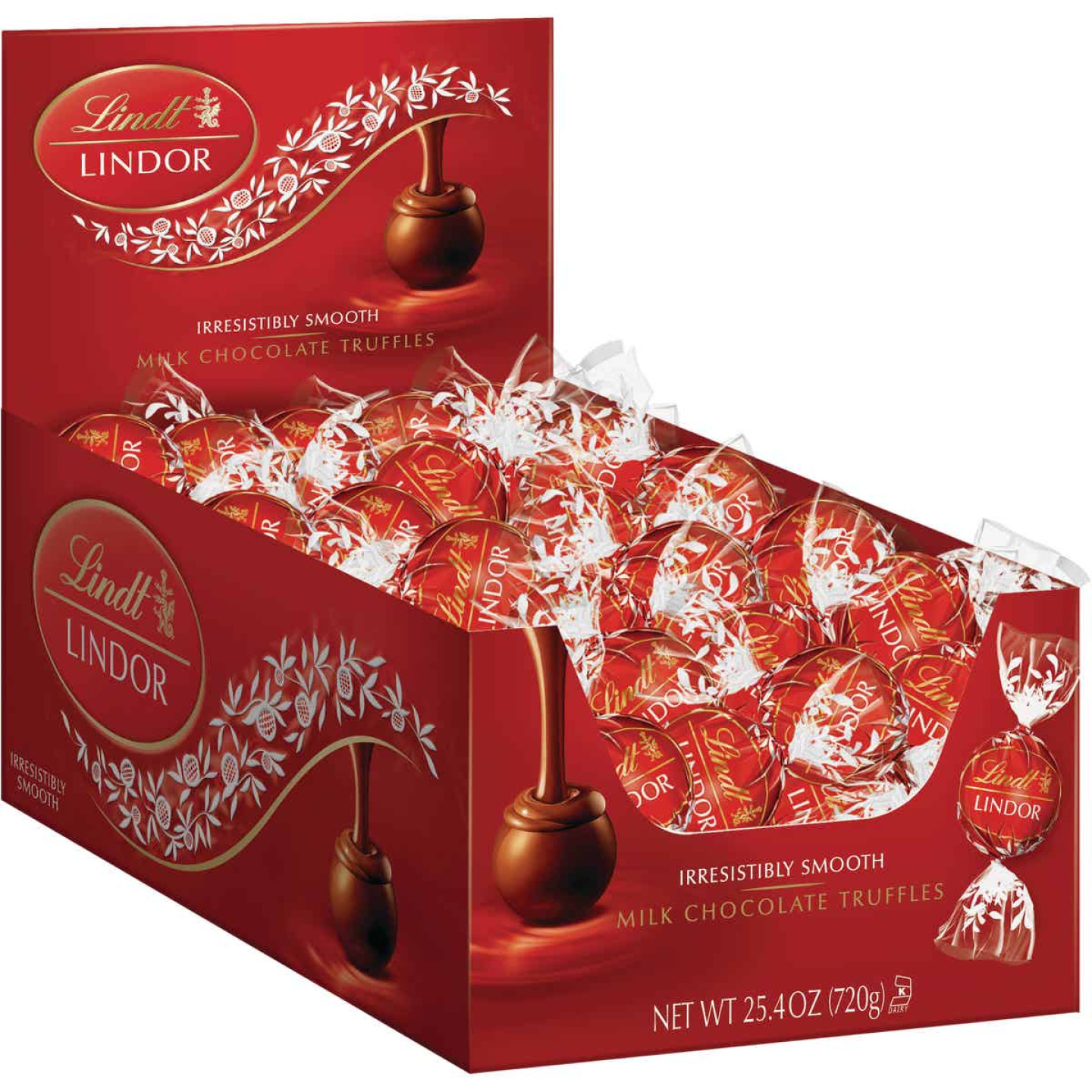 Lindt Lindor Milk Chocolate Truffle Changemaker Display (60-Count) Image 1